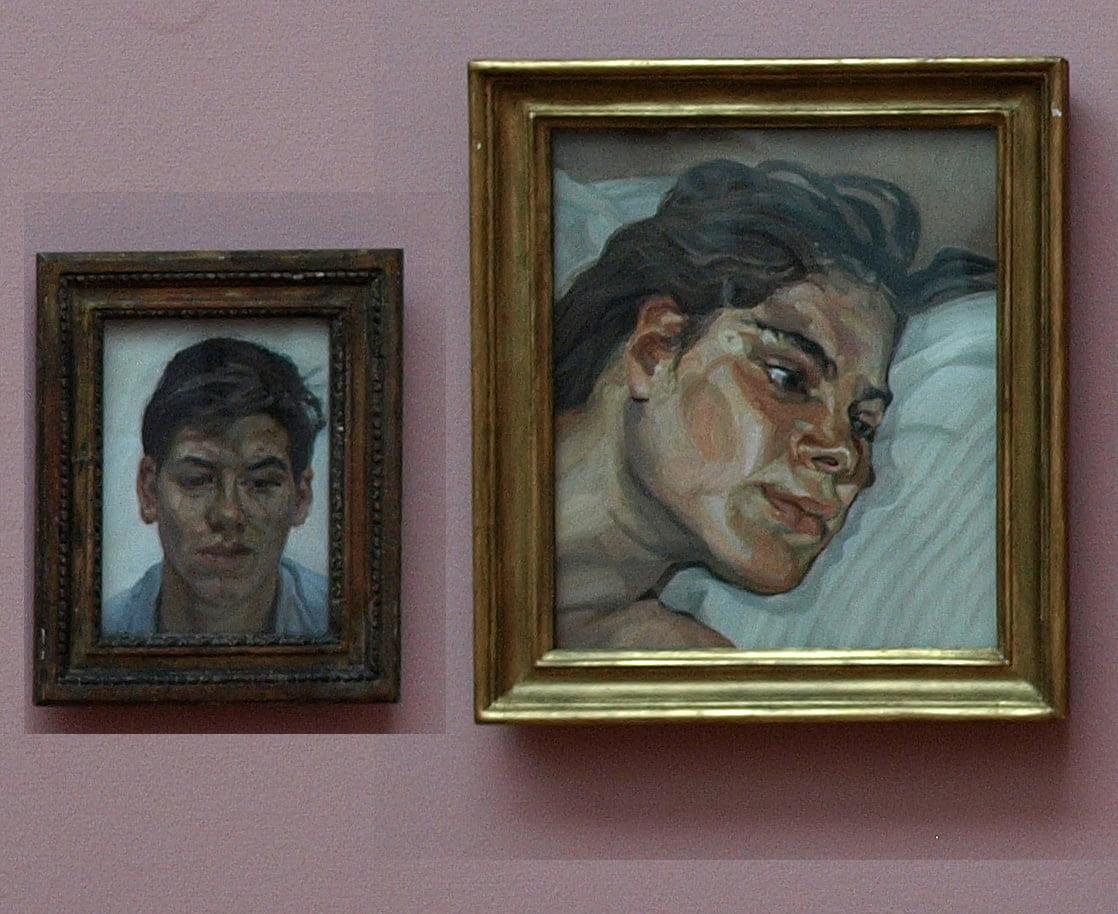 Lucian Freud, Gemeentemuseum