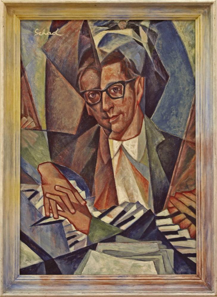 Christian Schad, Gemeentemuseum
