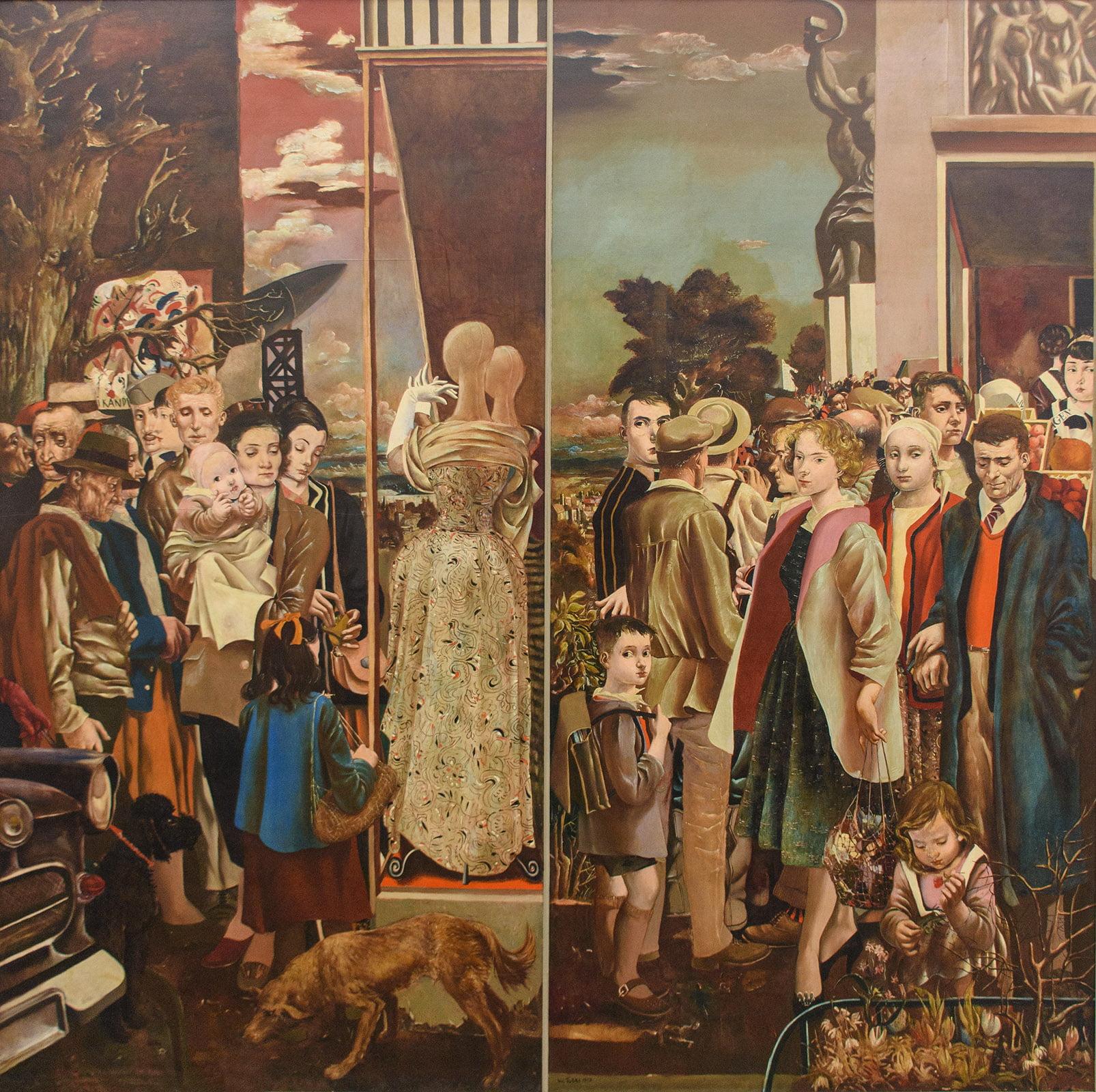 Museum de Fundatie, Zwolle, Werner Tübke, Master painter between East and West