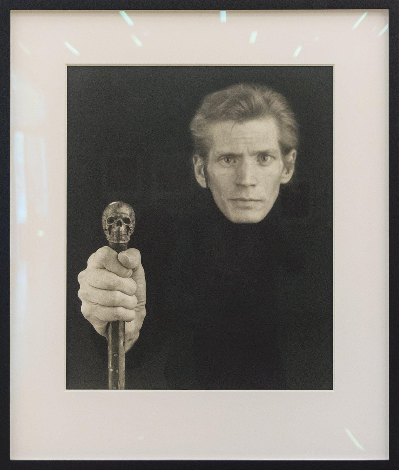 Kunsthal, Rotterdam, Robert Mapplethorpe, selfportrait