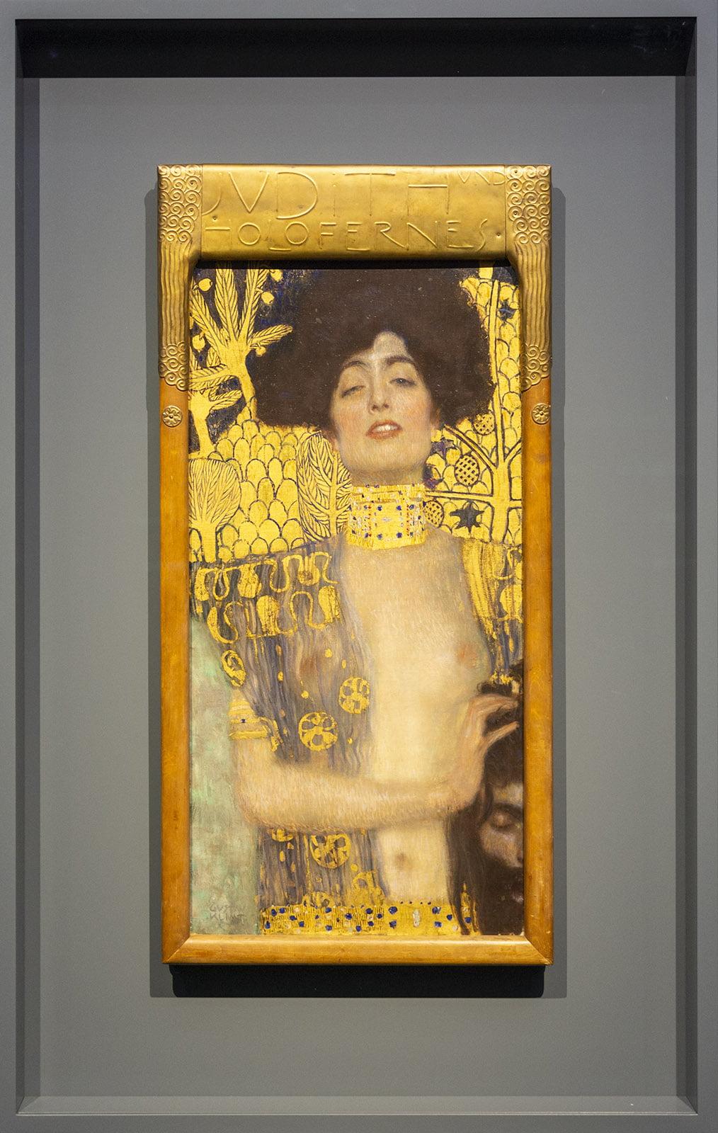 Kunstmuseum, Den Haag, Judith, Klimt