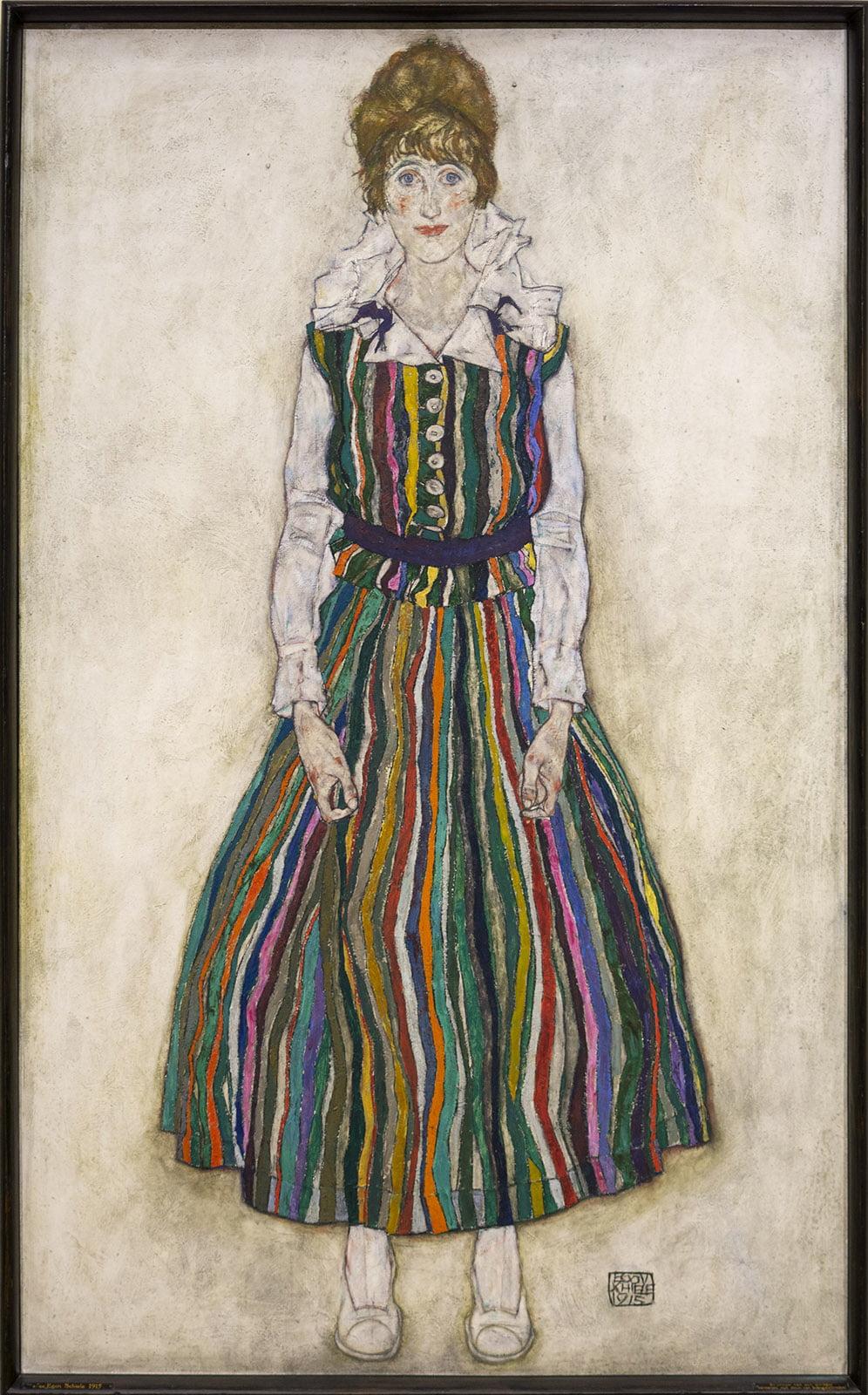 Kunstmuseum, Den Haag, Edith, Schiele