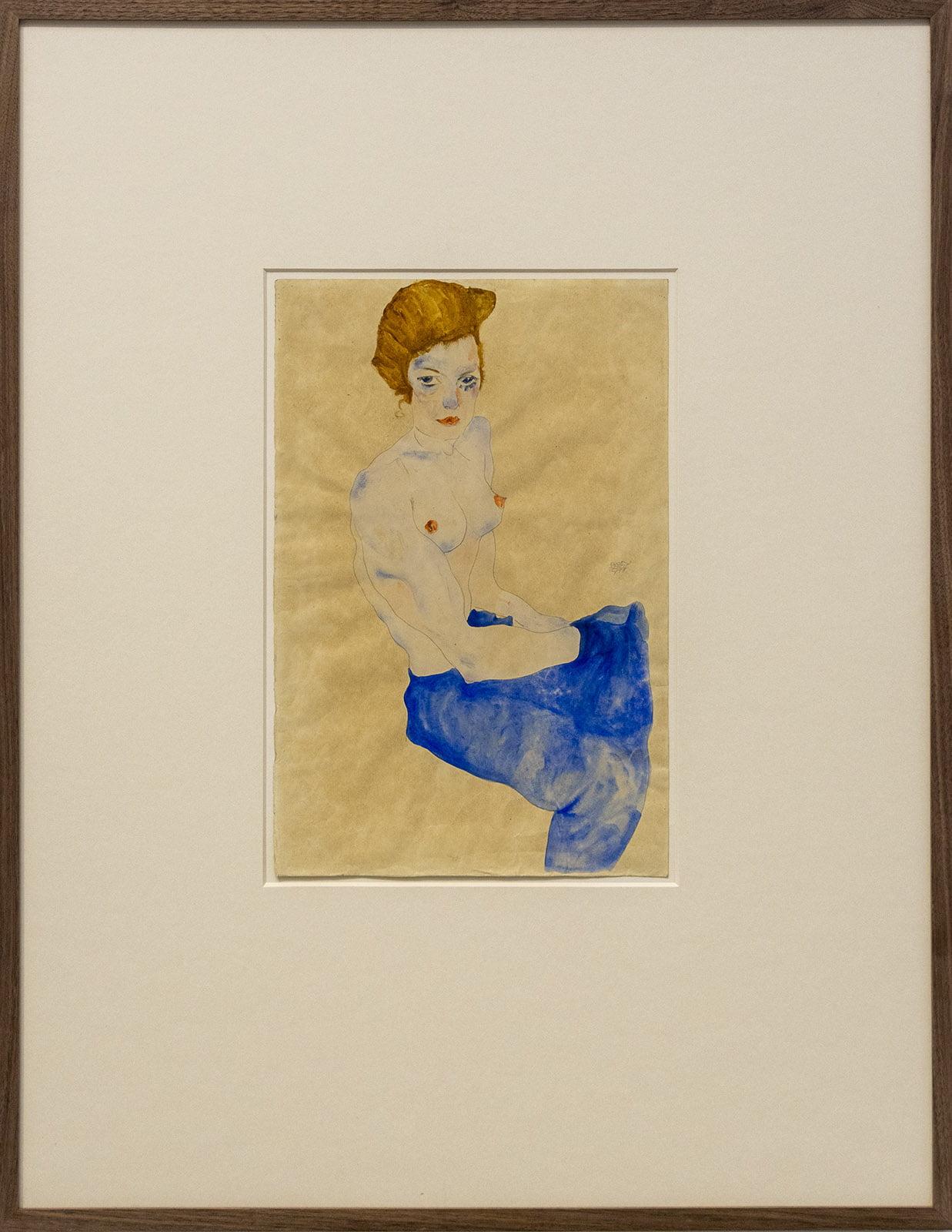 Kunstmuseum, Den Haag, Edith, Judith, Schiele