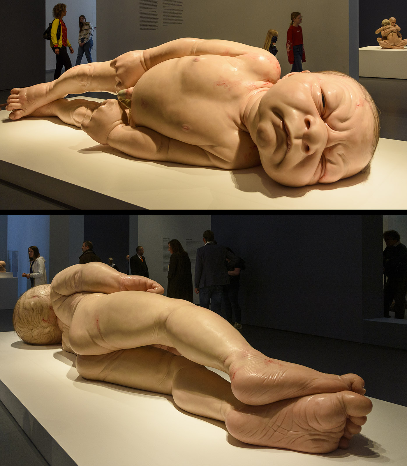 Ron Mueck - A Girl, Kunsthal, Hyperrealism Sculpture